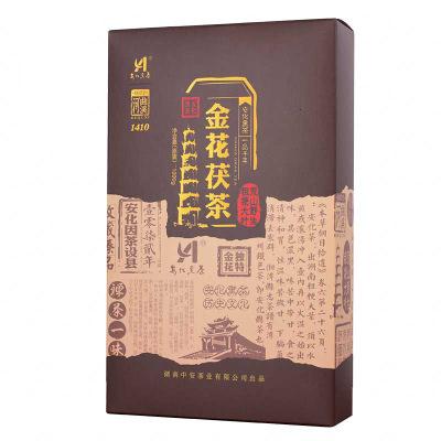 湖南黑茶河曲溪金花茯茶1000g(偏远地区不包邮)