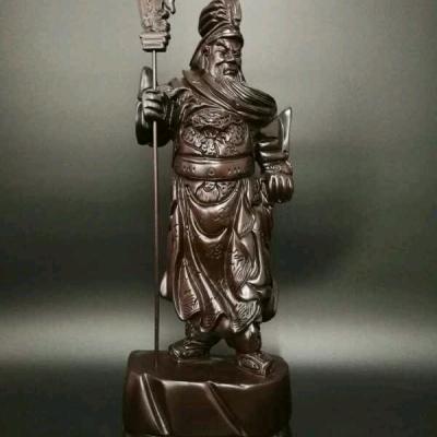 特价8尊不包邮卖完即止名称:50-60cm高关公雕刻