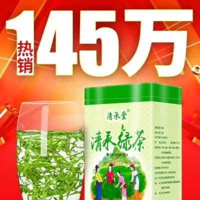 绿茶2019春茶新茶叶毛尖茶日照高山散装云雾茶浓香型共500g