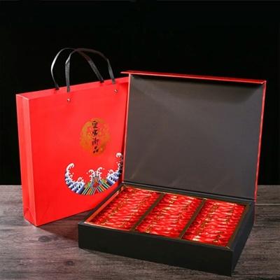 2020春茶武夷山正山小种,高档礼盒装一套一斤装100小包