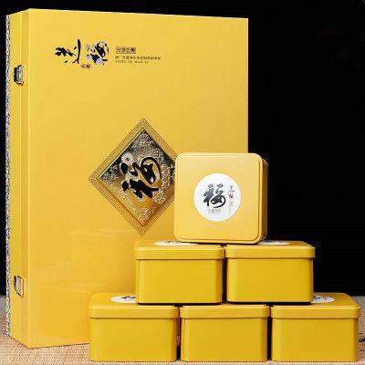 【成澍茶业】安溪铁观音茶叶浓香型高山铁观音500g六罐高端礼盒装