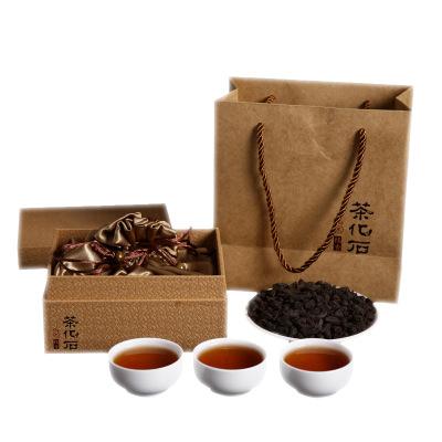 云南普洱茶 茶叶 熟茶 500克陈年普洱原味茶化石 碎银子 送礼盒装