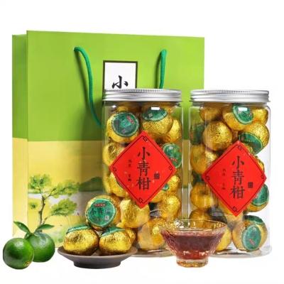 新会包装盒橘茶小青柑 特级正宗特级小青柑普洱 陈年红茶散装