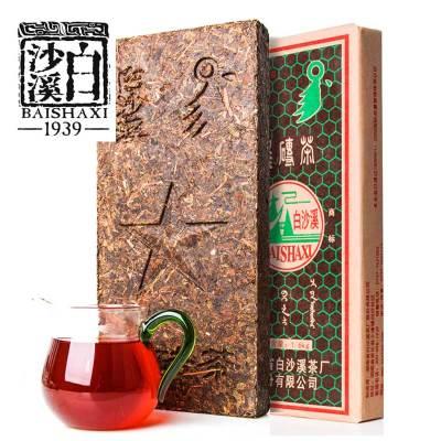 白沙溪 安化黑茶 黑砖茶  1600克(偏远地区)