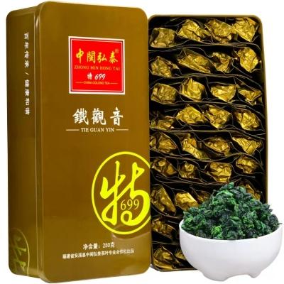 清香型铁观音茶叶安溪乌龙茶春茶高山茶新茶送礼礼盒裝