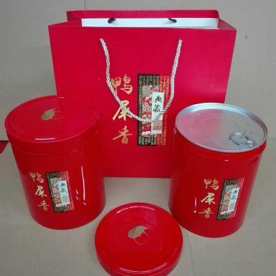 鸭屎香凤凰单丛 新茶 潮州凤凰单丛茶 大乌叶凤凰单枞一斤2铁盒装