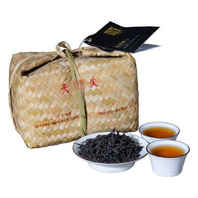 黑茶湖南安化安化黑茶白沙溪1KG天尖茶特级散装竹篓安华茶叶正宗