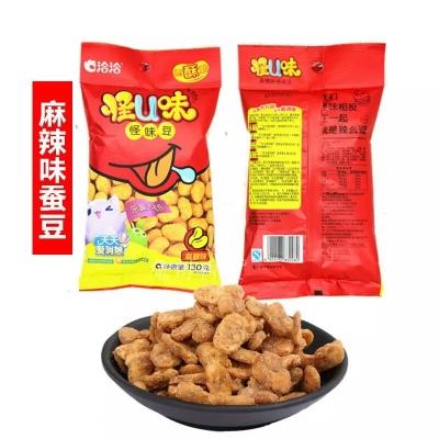 洽洽怪味豆蚕豆80克*10袋,五香蟹黄麻辣口味