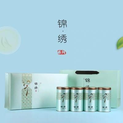 2019安吉白茶新茶珍藏白茶安吉特产浙江绿茶锦绣礼盒装250克茶叶