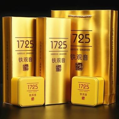 2019新茶铁观音浓香型 乌龙茶叶安溪春茶1725散装礼盒送礼500g