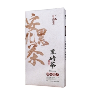 湖南安化黑茶 黑砖茶1000克河曲溪安化黑茶砖(偏远地区不包邮)