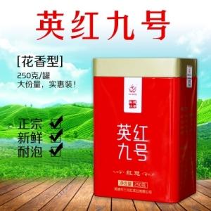 英红九号 2019一级浓香型250克红茶盒装(偏远地区不包邮)