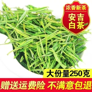 2019新茶叶正宗安吉白茶 高山雨前白茶绿茶 250g散装春茶茶农直销