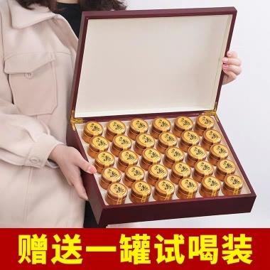 2019新茶明前龙井绿茶小金罐装西湖龙井茶茶叶礼盒装手工龙井300g