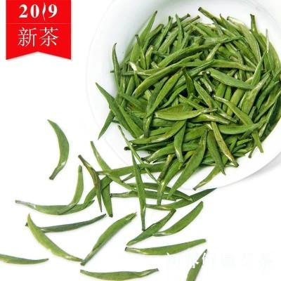 雀舌茶2019年新茶明前春茶四川蒙顶山茶嫩芽散装竹叶青茶叶绿茶100克