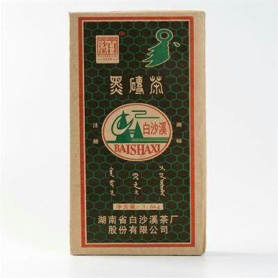 黑茶安化茶砖茶叶黑茶湖南安化正宗白沙溪1600克黑砖(偏远地区不包邮)