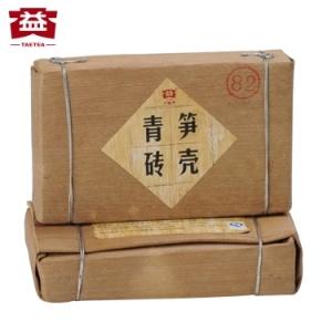 大益普洱茶生茶普洱砖茶2012年 竹笋壳青砖250g(偏远地区不包邮)
