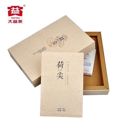 大益普洱茶熟茶细嫩臻品荷尖100克1601批次(偏远地区不包邮)