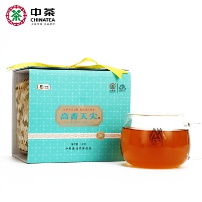 中茶天尖 百年木仓 湖南安化黑茶  1kg(偏远地区不包邮)