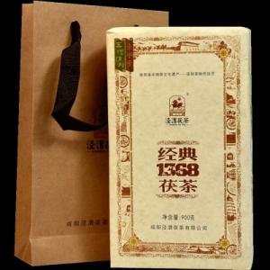 泾渭茯茶 经典1368陕西黑茶 900克(偏远地区不包邮)