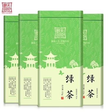 【买1发4】绿茶2019新茶特级茶叶散装绿茶浓香型毛尖茶嫩芽共500g