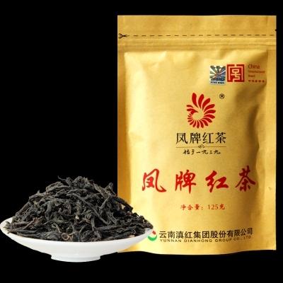 凤牌红茶云南滇红125克 (偏远地区不包邮)
