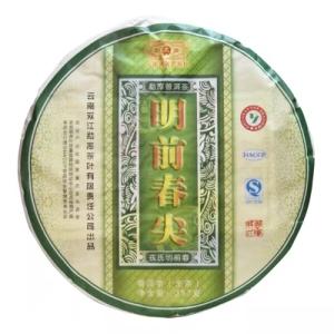 云南临沧普洱生茶饼勐库戎氏2011明前春尖357g八年陈品饮级口粮茶