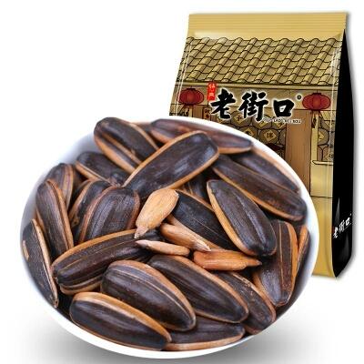 老街口焦糖山核桃味瓜子500g小零食炒货坚果葵花籽特产批发