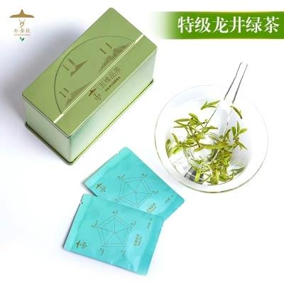 新茶小茶匠绿茶茶包明前龙井特级独立小包装4g*18泡五维品茶