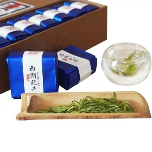 明前特级西湖龙井茶叶新茶绿茶便携独立小包装小袋装送礼盒装