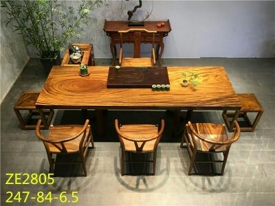 实木大板茶桌1400/平