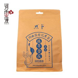 湖南黑茶河曲溪金花茯砖茶300克(偏远地区不包邮)