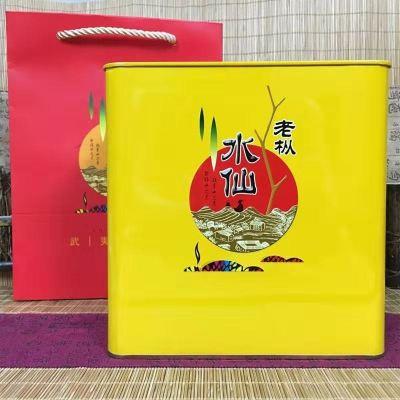 武夷岩茶老纵水仙500克罐装 福建武夷山大红袍茶叶浓香型茶散装
