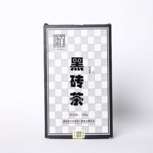 湖南黑茶白沙溪正品快捷型450克免撬茶2019茯砖茶(偏远地区不包邮)