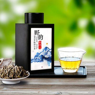 2013年荒野牡丹王梅子香花香福鼎白茶200g