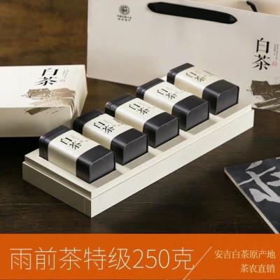 安吉白茶2019新茶 珍稀正宗高山珍稀雨前茶特级 250克礼盒装