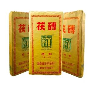 黑茶白沙溪黑砖茶1500克茯砖茶(偏远地区不包邮)