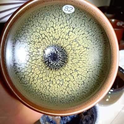 原矿釉电烧鹧鸪建盏主人杯