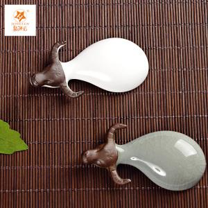 茶宠陶瓷迷你小茶宠可养茶台饰品祥牛*2个,茶道配件(偏远地区不包邮)