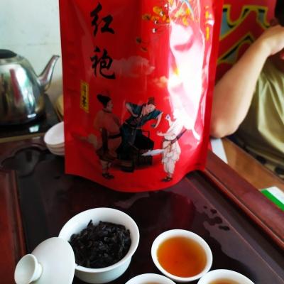 大红袍茶武夷岩茶正岩贡茶正宗传统炭焙肉桂大红袍茶浓香型散装1斤1袋包邮