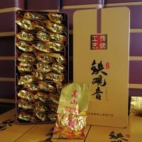 浓香型铁观音茶叶礼盒装500克 兰花香安溪铁观音茶叶铁盒装 送手提袋