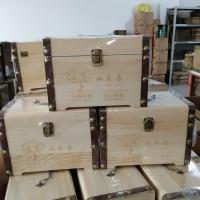 糯米香普洱小沱茶木箱礼盒装云南普洱熟茶小金沱750克散装茶