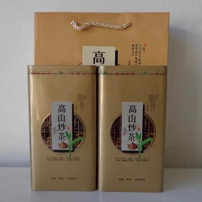 揭阳炒茶 坪上炒茶 潮汕茶叶 浓香型炒茶芯 罐装礼盒装500g包邮