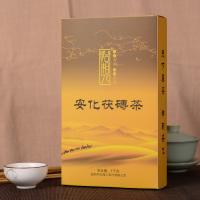 湖南黑茶茯砖茶福满天下手筑伏金花砖(偏远地区不包邮)