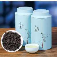 1罐250g大份量 木炭技法茶多酚茶叶 高浓度油切黑乌龙茶 浓香型