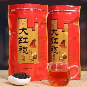 大红袍茶叶浓香型新茶 武夷山大红袍散装茶叶250g袋装大红袍正品