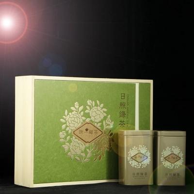 日照绿茶新茶叶春茶特级高山云雾绿茶散装自产自销礼盒装250g