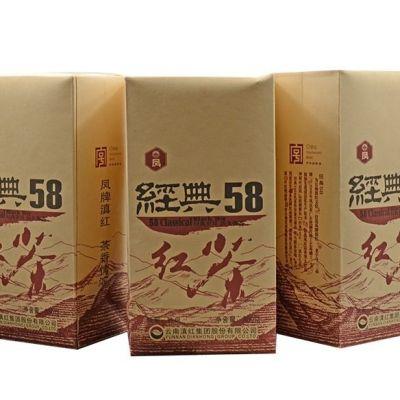凤牌红茶 云南滇红茶特级经典58红茶380g(偏远地区不包邮)