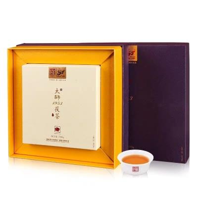 湖南黑茶白沙溪建厂80周年礼盒大师1953茯茶700g/偏远地区不包邮