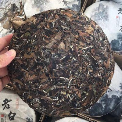 福鼎白茶 老白茶饼 2015特级春茶老寿眉350g
